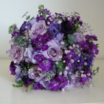 purple+wedding+bouquet+countrystyle